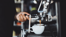 How distribution impacts espresso extraction