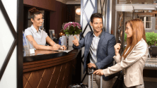 The role of the front desk in upselling