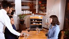 Table service etiquette