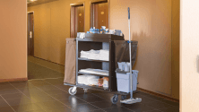 Preparing your housekeeping cart