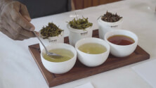Evaluating tea liquor
