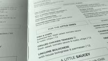 How to write menu descriptions