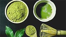 Green, white, and yellow tea