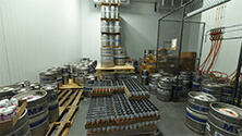 Setting up a cool room for draft beer