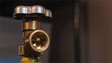 Using gas systems with draft beer