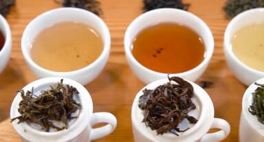 Wet tea leaf evaluation