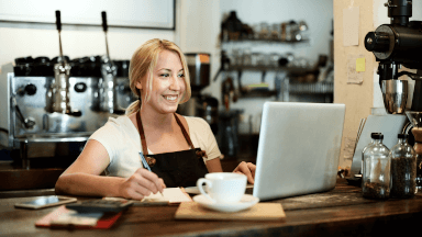 Writing training content