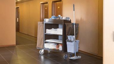 Preparing your housekeeping cart