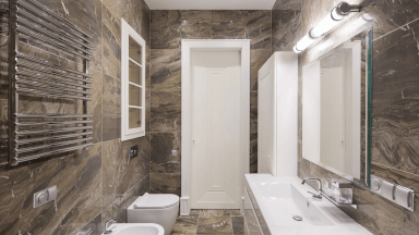Cleaning sinks, mirrors, showers, and baths