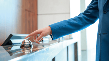 The importance of the check-in and check-out experiences