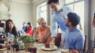 The difference between service and hospitality