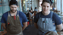 Using teamwork in the restaurant