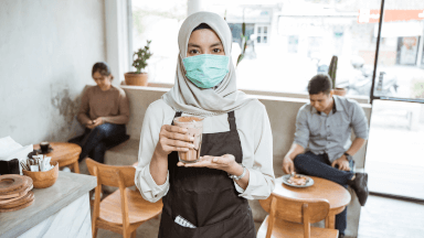 Welcome – COVID-19 hygiene & cleaning practices for service staff