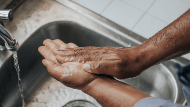 Personal hygiene of food handlers