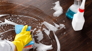 How to clean if someone is diagnosed with an infectious disease