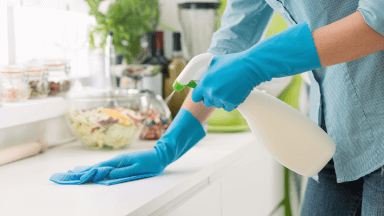 Infection cleaning tips