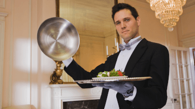 The history and traditions of a butler