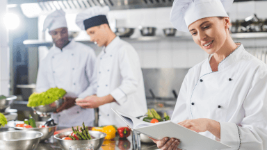 Wellbeing in the kitchen