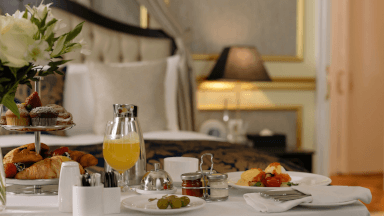 Welcome - Room service essentials