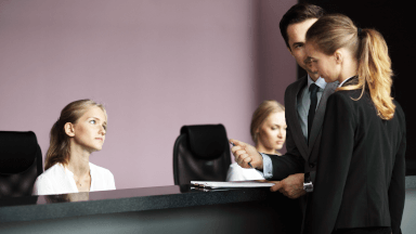 Responding to front office guest complaints