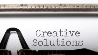 An idea to creatively solving problems