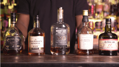 English-influenced rums