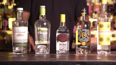Spanish-influenced rums