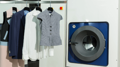 Dry cleaning operations