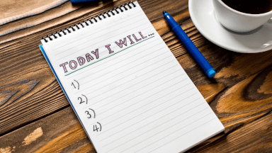 Improving productivity with goal setting