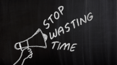 Managing time and tasks to eliminate waste