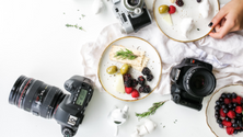 Basic food photography tips