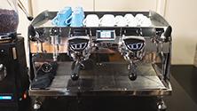 Parts of an espresso machine