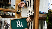 The importance of 'hello' and 'goodbye' in hospitality